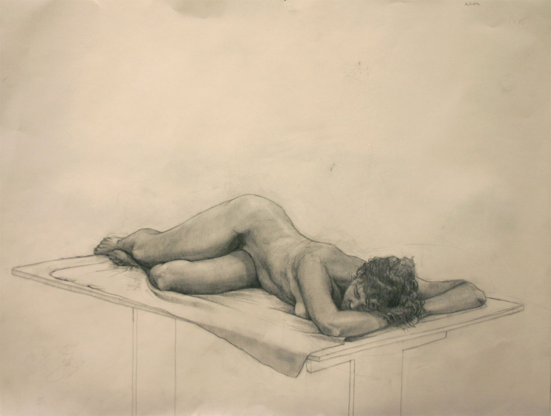 Figure Drawing. Long Pose © Adam Pellerite