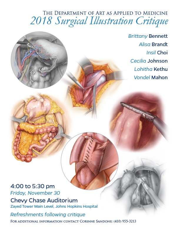 Surgical Illustration Critique 2018 Art As Applied To Medicine