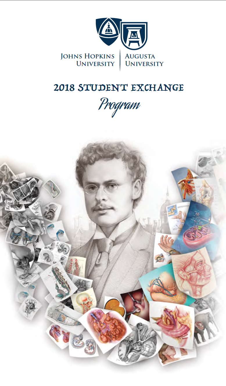 2018 Student Exchange – Art as Applied to Medicine